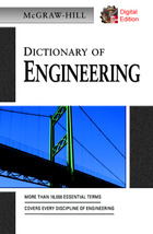 McGraw-Hill Dictionary 2007 of Engineering
