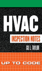 HVAC Inspection Notes: Up to Code