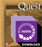 Quest Listening and Speaking Level 3 Audio Download