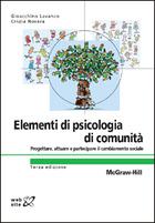 Elementi di psicologia di comunità - Progettare, attuare e partecipare il cambiamento sociale 3/ed