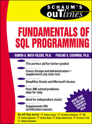 Schaum\'s Outline of Fundamentals of SQL Programming