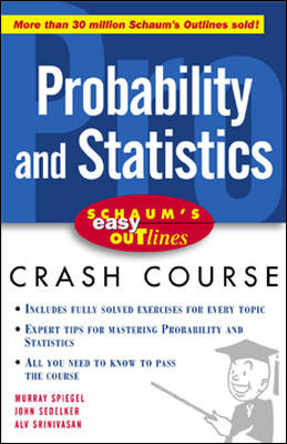 Schaum\'s Easy Outline of Probability and Statistics