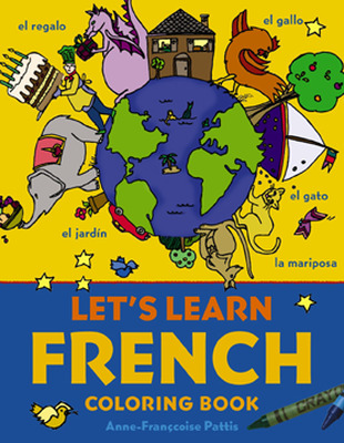 Let\'s Learn French Coloring Book