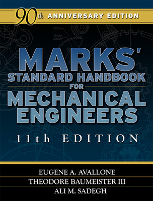 Marks\' Standard Handbook for Mechanical Engineers