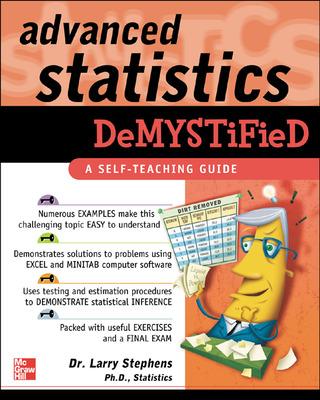 Advanced Statistics Demystified