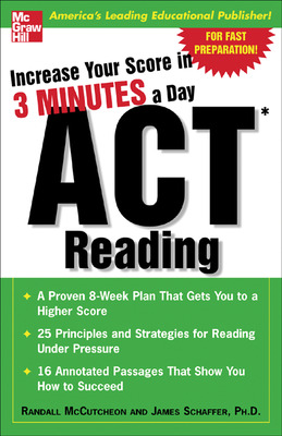 Increase Your Score In 3 Minutes A Day: ACT Reading