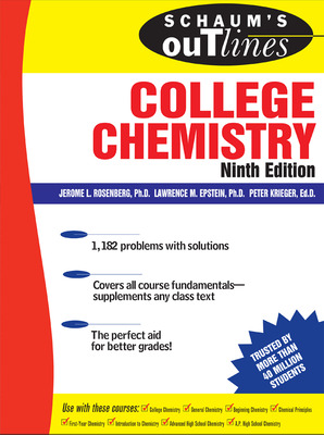 Schaum\'s Outline of College Chemistry, 9ed