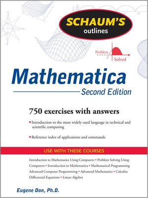 Schaum\'s Outline of Mathematica, 2ed