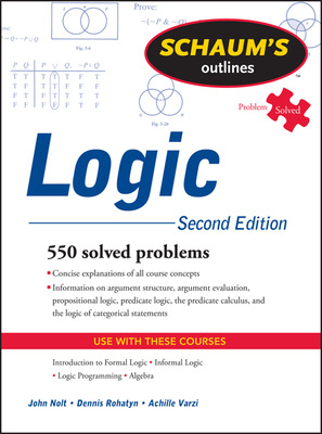 Schaum\'s Outline of Logic, Second Edition