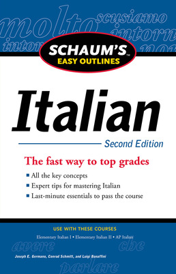 Schaum\'s Easy Outline of Italian, Second Edition