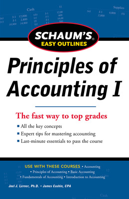 SCHAUM\'S EASY OUTLINE OF PRINCIPLES OF ACCOUNTING