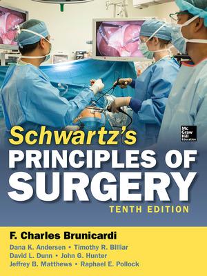 Schwartz\'s Principles of Surgery, 10th edition