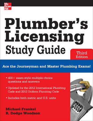 Plumber\'s Licensing Study Guide, Third Edition