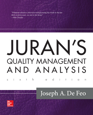 Juran\'s Quality Management and Analysis