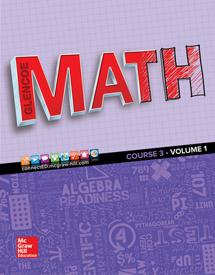 Glencoe Math cover