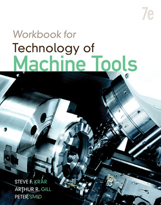 Student Workbook for Technology of Machine Tools