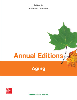 Annual Editions: Aging, 28/e