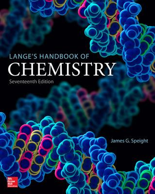 Lange\'s Handbook of Chemistry
