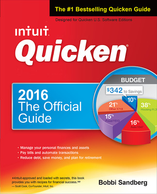 Quicken 2016 The Official Guide